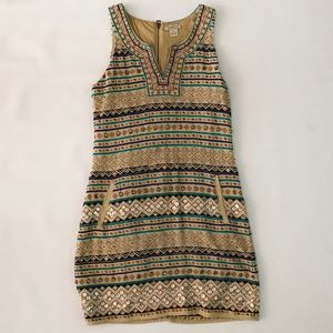 Lucky Brand Beaded dress - Size Small